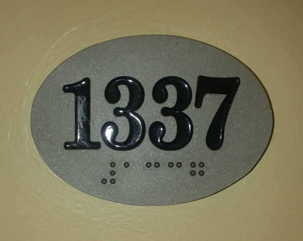 My room number at the West Side YMCA Hotel