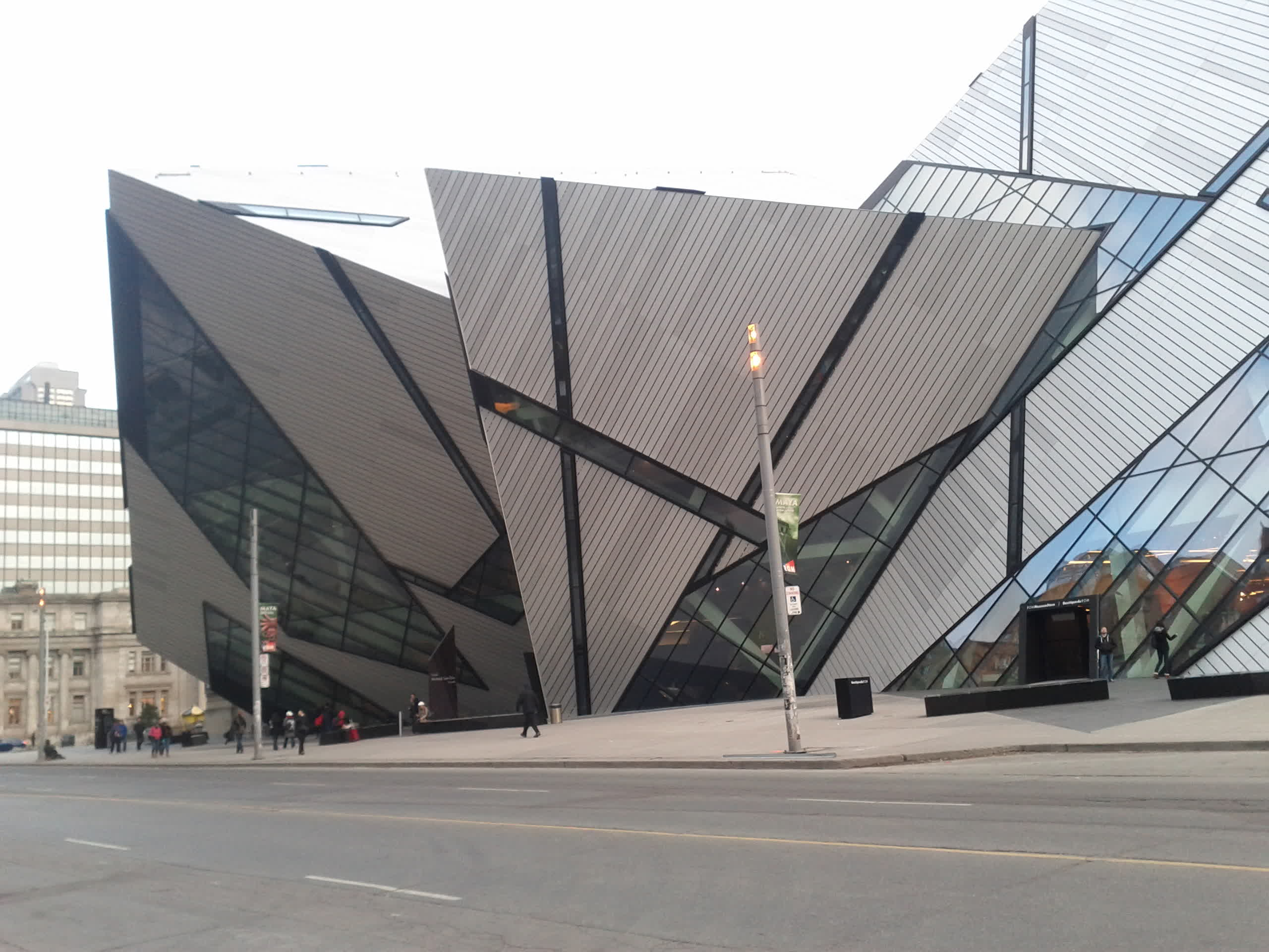 This is the ROM. It's a very impressive building.