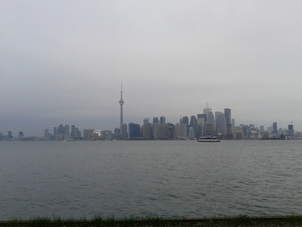 Toronto as seen from Centre Island